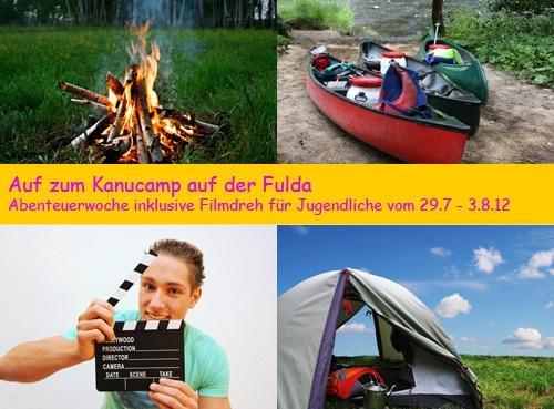 Schauspieler-Info.de | Eine Jugendreise der besonderen Art: Das Kanucamp auf der Fulda