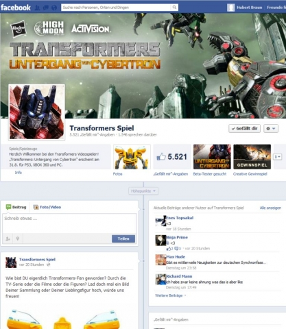 Gewinnspiele-247.de - Infos & Tipps rund um Gewinnspiele | http://www.facebook.com/TransformersSpiel