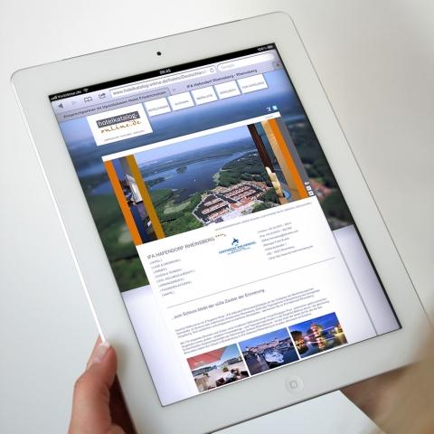 Hamburg-News.NET - Hamburg Infos & Hamburg Tipps | Nun auch für iPad optimiert: Hotels wie das IFA Hafendorf Rheinsberg gewinnen mit hotelkatalog-online.de mehr Gäste und Direktbuchungen