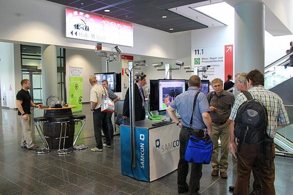Berlin-News.NET - Berlin Infos & Berlin Tipps | SAMCON Messestand auf der ACHEMA 2012