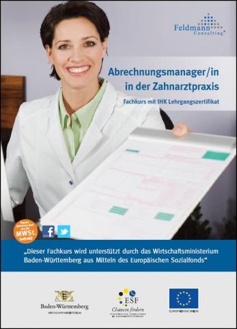 Stuttgart-News.Net - Stuttgart Infos & Stuttgart Tipps | Abrechnungsmanager/in in der Zahnarztpraxis mit IHK Lehrgangszertifikat