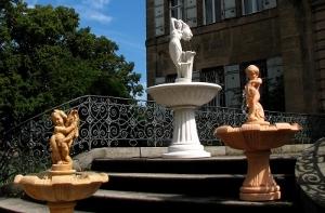 CMS & Blog Infos & CMS & Blog Tipps @ CMS & Blog-News-24/7.de | Betonbrunnen vom Hersteller MAXX raumelemente - in Sahara antik, Marmorweiß und Terrakotta