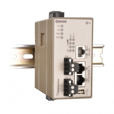 Europa-247.de - Europa Infos & Europa Tipps | Der Ethernet-Extender DDW-142 von Westermo: Kostengünstige Alternative zu teuren Glasfaserleitungen.