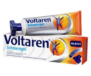 BIO @ Bio-News-Net | Voltaren Schmerzgel aus der Versandapotheke mediherz.de