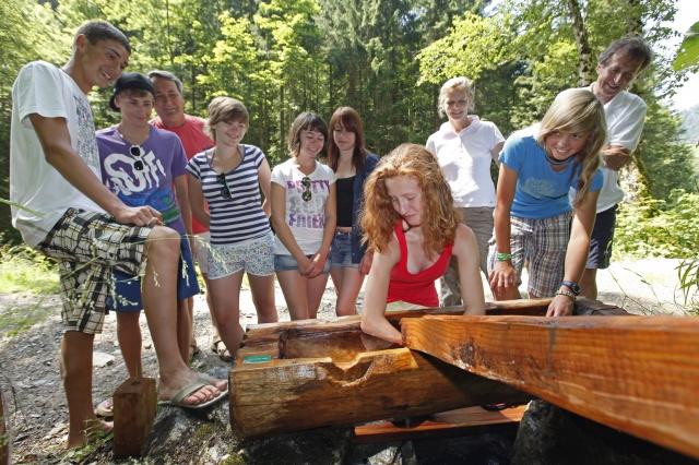 Medien-News.Net - Infos & Tipps rund um Medien | Der Forstauer Wasserweg Raffalt ist eine Bereicherung für Jung und Alt.