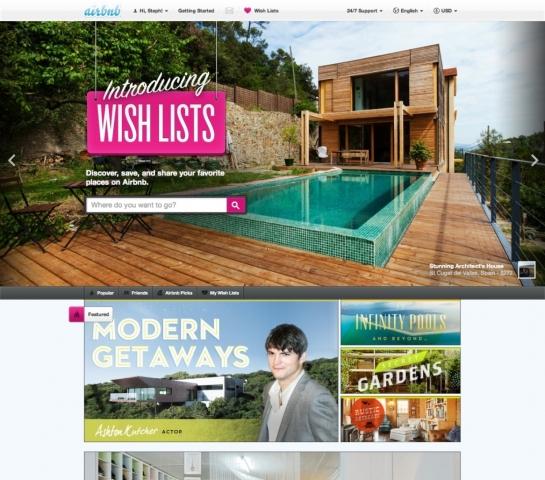 London-News.Info - London Infos & London Tipps | Neues Feature von Marktführer Airbnb:  Wish Lists machen die Reiseplanung und die Empfehlung von Unterkünften zu einem visuellen Erlebnis. (Bild: Airbnb)