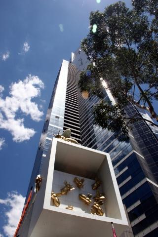 Hotel Infos & Hotel News @ Hotel-Info-24/7.de | Melburnians love Bees: Sie haben Bienenstöcke auf den Dächern und schmücken damit sogar ihre Wolkenkratzer.