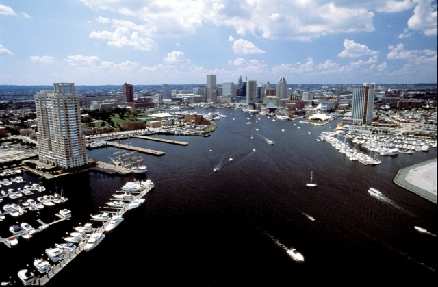 Auto News | Der Inner Harbor von Baltimore in Maryland ist ein beliebtes Kreuzfahrtziel