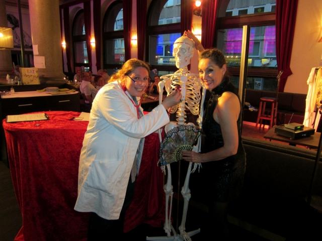 Sport-News-123.de | Dr. Schneckenfittich und Ellen Obiér beim Comedy mit Biss in Fulda