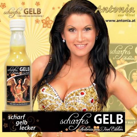 Brandenburg-Infos.de - Brandenburg Infos & Brandenburg Tipps | Sexy Schlagerstar Antonia aus Tirol wirbt für Creme Likör