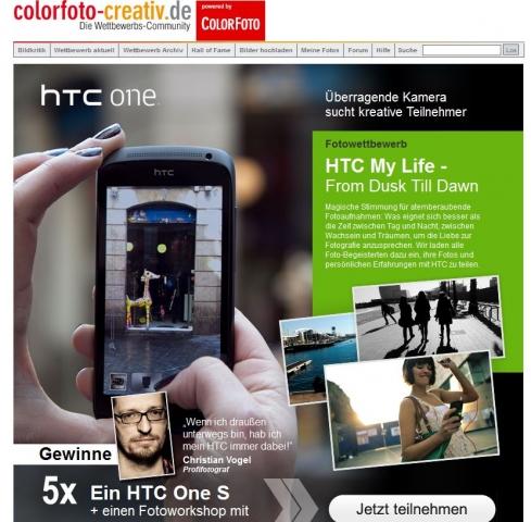 Medien-News.Net - Infos & Tipps rund um Medien | HTC Fotowettbewerb