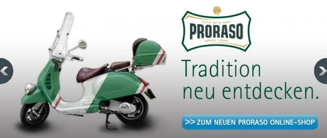 Shopping -News.de - Shopping Infos & Shopping Tipps | Die neue Proraso Formel - jetzt auch in Deutschland erhältlich!