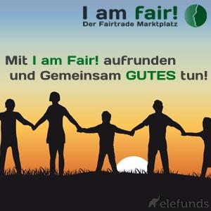 Shopping -News.de - Shopping Infos & Shopping Tipps | iamfair.de, Deutschlands erster Fairtrade-Marktplatz, rundet auf!