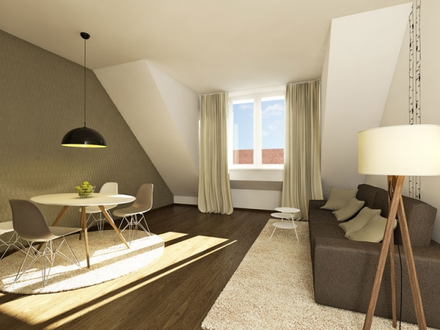 Hotel Infos & Hotel News @ Hotel-Info-24/7.de | Foto: viennaresidence, Serviced Apartment gestaltet von smartvoll