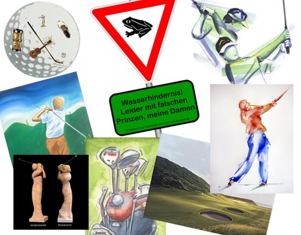 "App News @ App-News.Info | KünstlerGruppe  ""golf-künstler – golf ist kunst"" bei der Kölner Golf Woche 2012!"