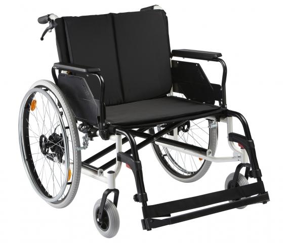 Technik-247.de - Technik Infos & Technik Tipps | Dietz CANEO_200: Leichtgewicht-Faltrollstuhl für Schwerlasten bis 200 kg