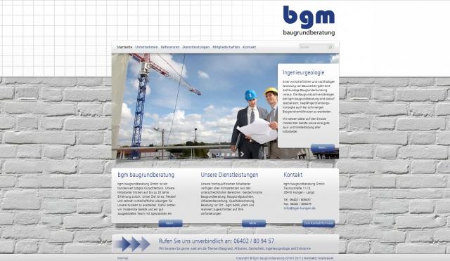 Alternative & Erneuerbare Energien News: Der neue Internetauftritt der bgm baugrundberatung GmbH