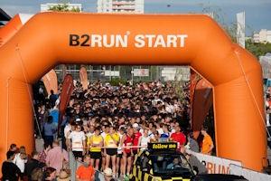 Firmenlauf B2Run - ABAS macht mit