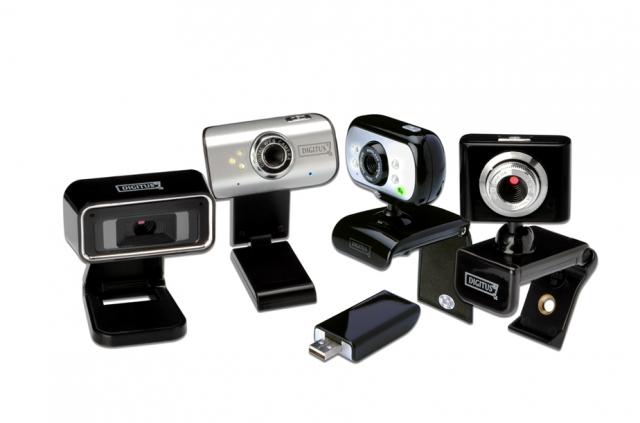 Hardware Infos & Hardware Tipps @ Hardware-News-24/7.de | Vier neue Digitus-Webcams: Für jeden Anlass die passende Kamera