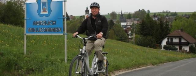 Hotel Infos & Hotel News @ Hotel-Info-24/7.de | Der Direktor Herr Matheus des relexa hotel Bad Steben  hat die schönsten Touren mit dem E-Bike für Sie getestet