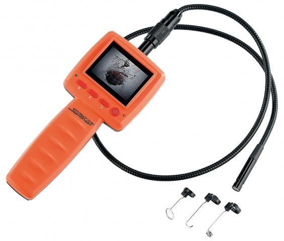 Versicherungen News & Infos | Somikon Endoskop-Kamera mit Monitor und Schwanenhals
