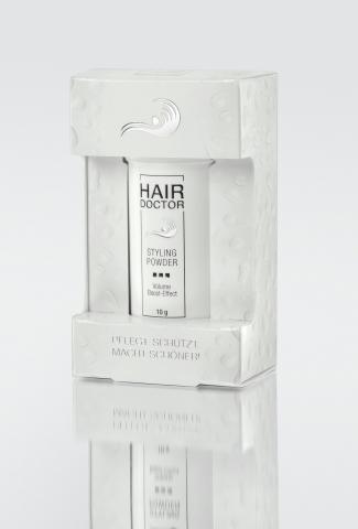Shopping -News.de - Shopping Infos & Shopping Tipps | Das Hair Doctor Styling Powder sorgt für Haar-Kontrolle aus der Puder-Dose ohne sichtbare Styling-Spuren.