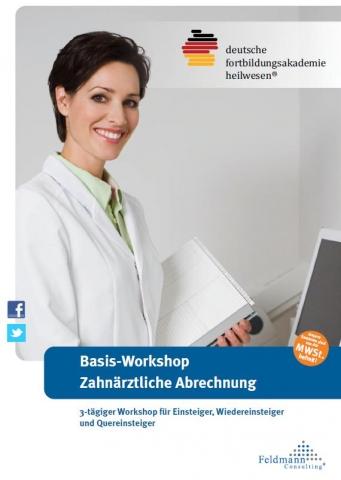 Einkauf-Shopping.de - Shopping Infos & Shopping Tipps | 3-tägiger Basis-Workshop Zahnärztliche Abrechnung