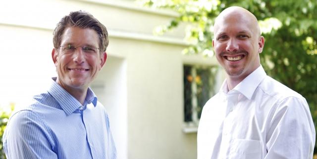 Die Geschäftsführer Olaf Ziegs und Tobias Müller (v.l.n.r.)