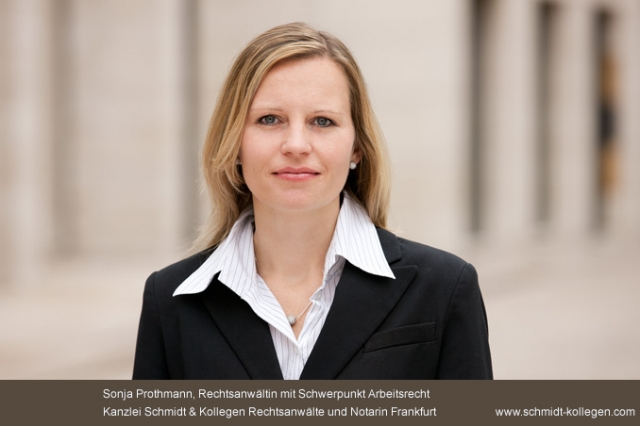 Berlin-News.NET - Berlin Infos & Berlin Tipps | Sonja Prothmann, Rechtsanwältin für Arbeitsrecht aus Frankfurt, erklärt wichtige Voraussetzungen für den Rechtssicheren Abschluss von befristeten Arbeitsverträgen.