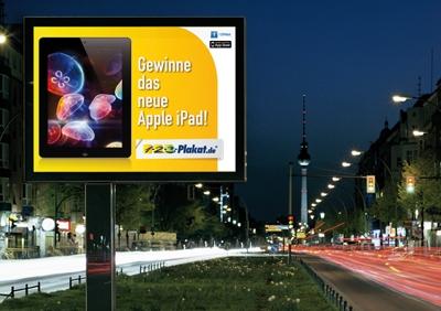 Auto News | www.facebook.com/123plakat: Fan werden und iPad gewinnen.