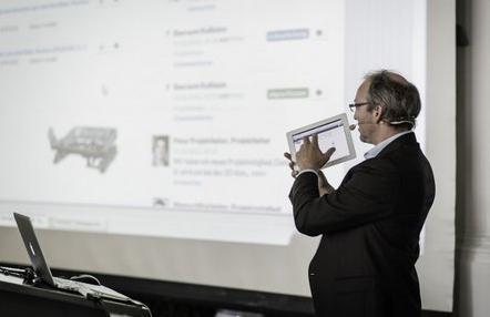 Auto News | CONTACT-Entwicklungsleiter Frank Patz stellt die Version 10 der PLM-Plattform CIM DATABASE vor.