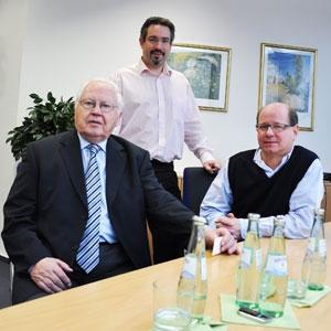 Geschäftsführer Wilhelm und Stephan Oberste-Beulmann und Leiter des ERP-Projektes, Dirk Thiemann, im Interview