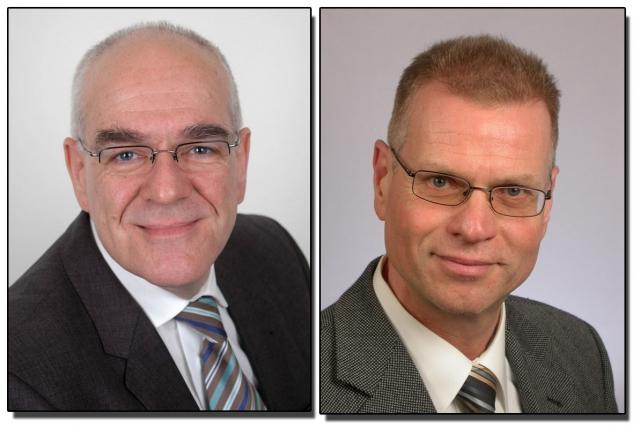 Schweiz-24/7.de - Schweiz Infos & Schweiz Tipps | Der neue Vorstand der team babel AG (v.l. Helmut Gräfen, Dr. Georg Bayer, Vorstandsvorsitzender)