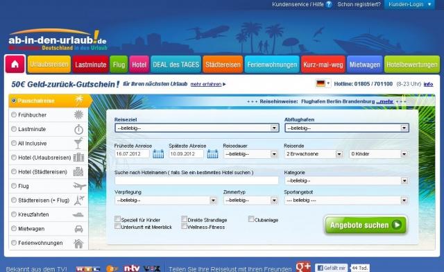 Hamburg-News.NET - Hamburg Infos & Hamburg Tipps | Reiseportal ab-in-den-urlaub.de: Kundenkritik kommt an - Reiserücktritts-Versicherung in Opt-in-Funktion verbessert