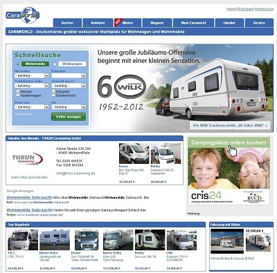 Video Infos & Video Tipps & Video News | Ausführliche Informationen und Suchmöglichkeiten bei caraworld.de