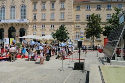 Oesterreicht-News-247.de - Österreich Infos & Österreich Tipps | Beim ersten Wiener Solar-Experiment erzeugten die Teilnehmer gemeinsam 1.000 Wattstunden Sonnenstrom
