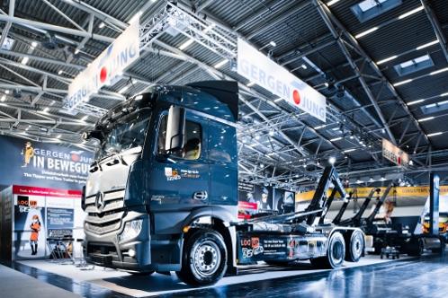 Asien News & Asien Infos & Asien Tipps @ Asien-123.de | Ob Lkw Chassis oder Gergen-Jung Abrollerkipper, der Vermieter Log-up setzt auf modernste und solide Technik im Mietpark.