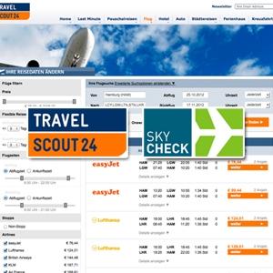 fluglinien-247.de - Infos & Tipps rund um Fluglinien & Fluggesellschaften | TravelScout24 und SKYCHECK.com starten Kooperation
