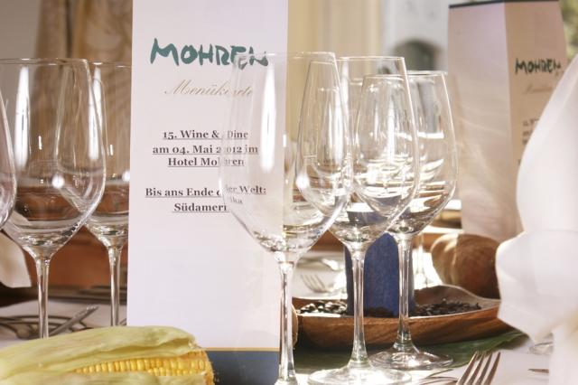 Hotel Infos & Hotel News @ Hotel-Info-24/7.de | Wine & Dine im Hotel Mohren in Oberstdorf