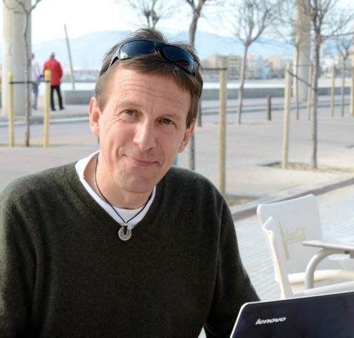Syncron-Geschäftsführer Michael Kaindl in Palma (Foto: Mallorca-Zeitung, Nele Bendgens)