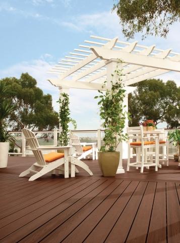 Terrassendielen von Trex sind umweltfreundlich und pflegeleicht