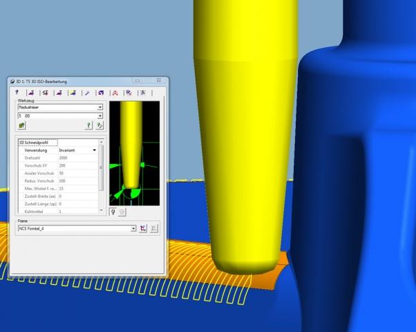 Stuttgart-News.Net - Stuttgart Infos & Stuttgart Tipps | 3D-ISO-Bearbeitung: Konische Werkzeuge sind jetzt einsetzbar.