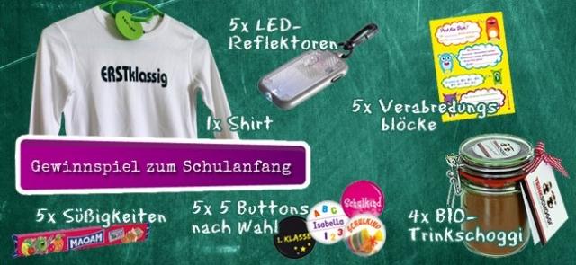 Einkauf-Shopping.de - Shopping Infos & Shopping Tipps | Gewinnspiel zur Einschulung bei der Kiwikatze