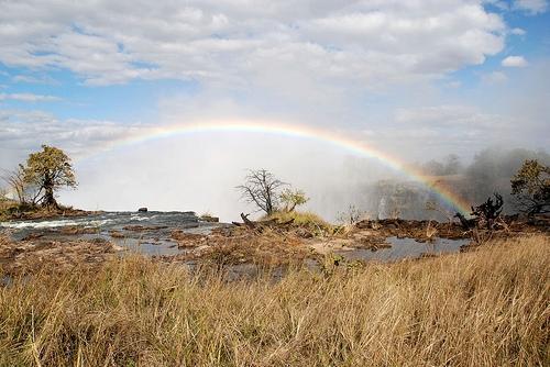 Afrika News & Afrika Infos & Afrika Tipps @ Afrika-123.de | Das Gewinnerbild von Frank Rauscher: Die Viktoria-Fälle in Sambia