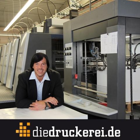 Bayern-24/7.de - Bayern Infos & Bayern Tipps | Onlinedruckerei senkt Plakatpreise. (Im Bild: Walter Meyer, Geschäftsführer Onlineprinters GmbH)