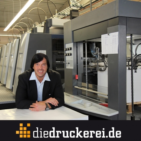 Einkauf-Shopping.de - Shopping Infos & Shopping Tipps | Onlinedruckerei senkt Plakatpreise. (Im Bild: Walter Meyer, Geschäftsführer Onlineprinters GmbH)