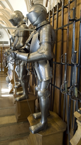 Einkauf-Shopping.de - Shopping Infos & Shopping Tipps | Waffensammlung auf Schloss Sigmaringen. Foto: Reiner Löbe