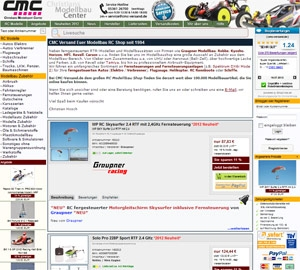 Einkauf-Shopping.de - Shopping Infos & Shopping Tipps | CMC Versand - Euer Modellbau RC Shop seit 1994