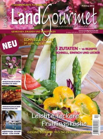 Einkauf-Shopping.de - Shopping Infos & Shopping Tipps | Der neue LandGourmet: Mit Erdbeer-Rezepten und Wellness-Tipps