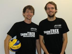 Einkauf-Shopping.de - Shopping Infos & Shopping Tipps | Die beiden Co-Trainer des Volleyballteams DSHS SnowTrex Köln: Marc d'Andrea (links) und Johannes Koch